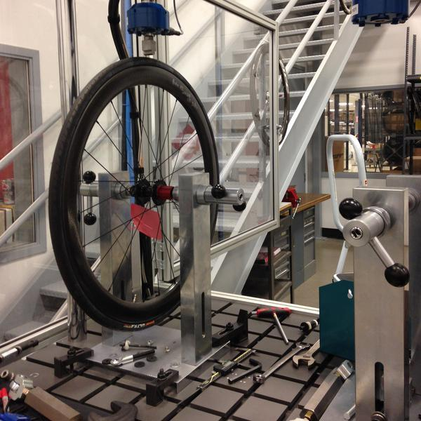 wheel testing machine